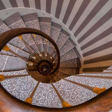 Cluny Square - Staircase