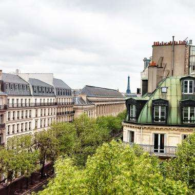 Cluny Square - View from hotel