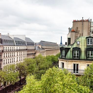 Cluny Square - Vue de l'hôtel